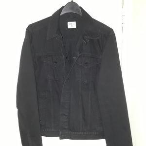 Men's Medium Gap 1969 Black Denim Jacket